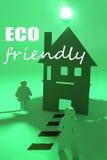 Respetuoso del medio ambiente Imagen de archivo libre de regalías