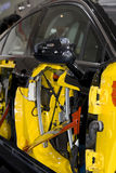 Respingente di sicurezza dei portelli di automobile immagine stock libera da diritti