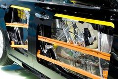 Respingente di sicurezza dei portelli di automobile fotografie stock libere da diritti