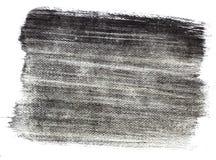 Respingo árabe da escova do bicromato da goma de Blackl Foto de Stock