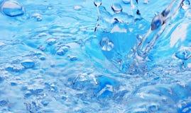 Respingo azul imagens de stock royalty free