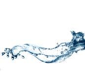 Respingo bonito da água pura imagens de stock royalty free