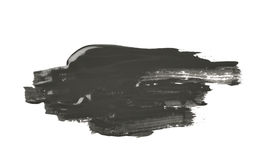 Respingo borrado da pintura isolado Imagem de Stock