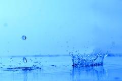 Respingo da água foto de stock royalty free