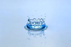 Respingo da água fotografia de stock