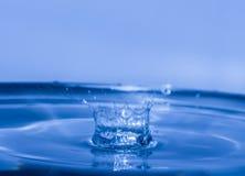 Respingo da água como a coroa Imagens de Stock