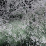 Respingo da água do mar Imagem de Stock