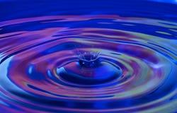 Respingo da gota da água Fotos de Stock