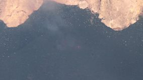 Respingo da lava de Etna vídeos de arquivo