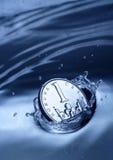 Respingo da moeda Imagens de Stock