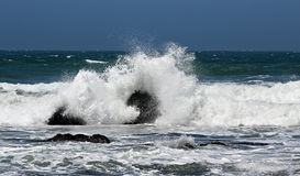 Respingo da onda de oceano Fotografia de Stock Royalty Free