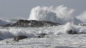 Respingo da onda do mar Imagem de Stock Royalty Free