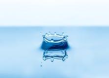 Respingo das gotas da água Imagens de Stock