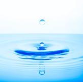 Respingo das gotas da água Fotografia de Stock