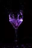 Respingo de Martini Fotografia de Stock Royalty Free