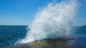 Respingo do mar Fotografia de Stock Royalty Free