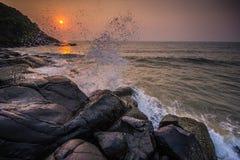 Respingo do mar Foto de Stock