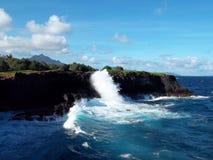 Respingo do oceano Fotos de Stock