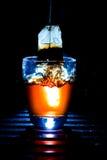 Respingo do saquinho de chá Fotos de Stock Royalty Free