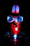 Respingo do saquinho de chá Imagem de Stock