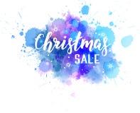 Respingo do sumário da venda do Natal ilustração do vetor