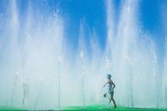 Respingo do verão Fotografia de Stock Royalty Free