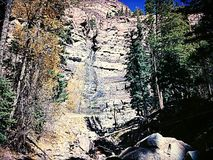 Respiración de muerte de las cascadas Imagenes de archivo