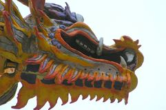 Respiración del dragón Imagen de archivo libre de regalías