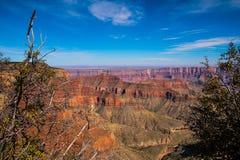 Respiración que roba, borde del norte, parque nacional de Grand Canyon fotos de archivo