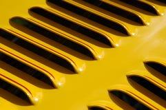 Respiradero amarillo imagen de archivo libre de regalías