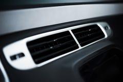 Respiradero de la condición del aire del coche Fotografía de archivo libre de regalías