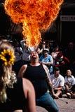 Respiradero del fuego Fotografía de archivo libre de regalías
