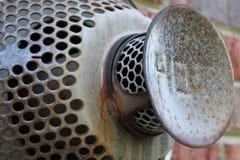 Respiradero industrial del calor Foto de archivo libre de regalías