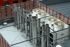 Respiraderos de enfriamiento Fotos de archivo