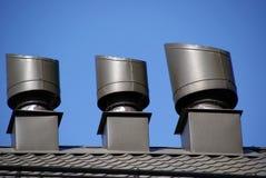 Respiraderos del tejado Imagen de archivo