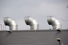 Respiraderos del tejado Imagenes de archivo