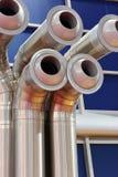 Respiraderos industriales de la CA Fotos de archivo libres de regalías