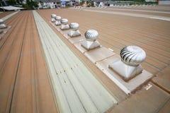 Respiradouros do telhado Imagem de Stock