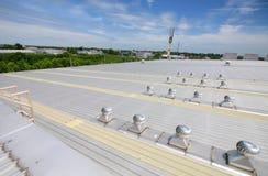 Respiradouros do telhado Fotografia de Stock Royalty Free