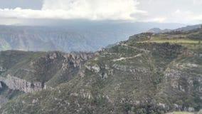 In the mountains. Respirando aire puro en la sierra Tarahumara en el estado de Chihuaha royalty free stock photography