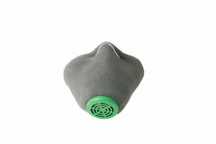 Respirator. Protection against poisonous gas. Clipping path Royalty Free Stock Photography