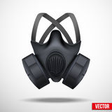 Respirator Mask. Vector White Background Royalty Free Stock Photos