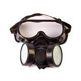 Respirator and Protective Goggles Royalty Free Stock Images
