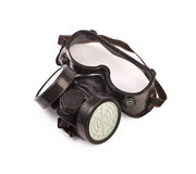 Respirator and Protective Goggles Royalty Free Stock Image