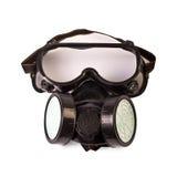 Respirator und Schutzbrillen Lizenzfreie Stockbilder