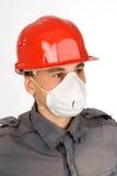 Respiratore della mascherina di polvere Fotografia Stock Libera da Diritti