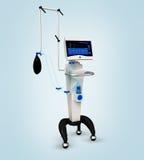 Respiratorisk enhet för medicinsk sjukhusventilator Arkivfoto