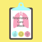 Respiratory care week Royalty Free Stock Photos