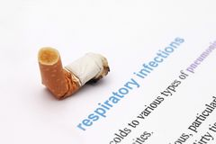 Respiratory infection Stock Photography