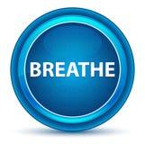 Respire el botón redondo azul del globo del ojo libre illustration